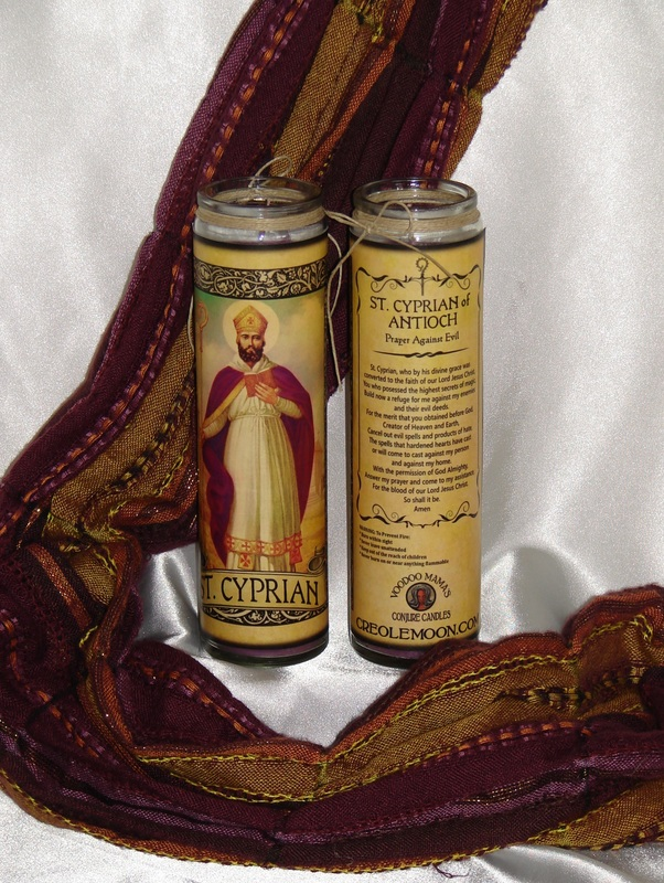 St. Cyprian Conjure Candle