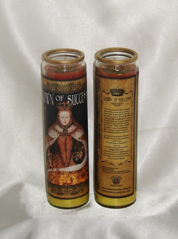 Crown of Success Conjure Candle