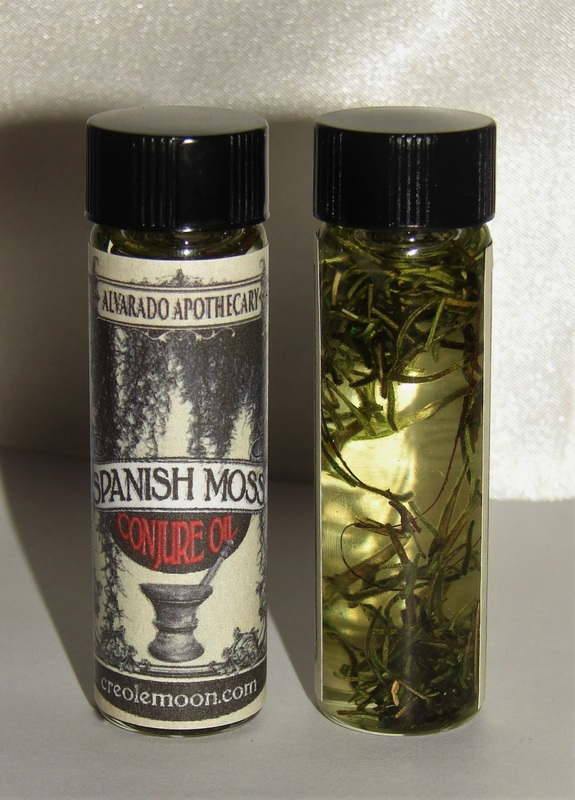 Spanish Moss Conjure Oil