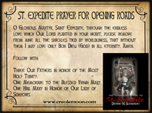 St. Expedite Road Opener Prayer