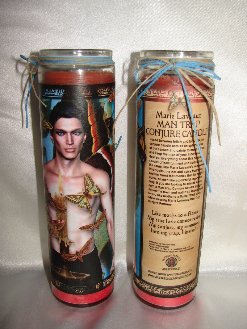 Man Trap Conjure Candle for Men who Love Men