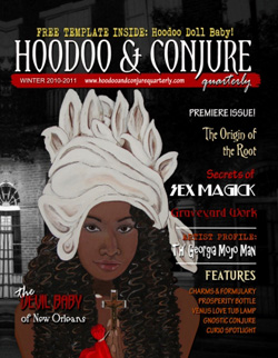 premiere issue of Hoodoo & Conjure Quarterly