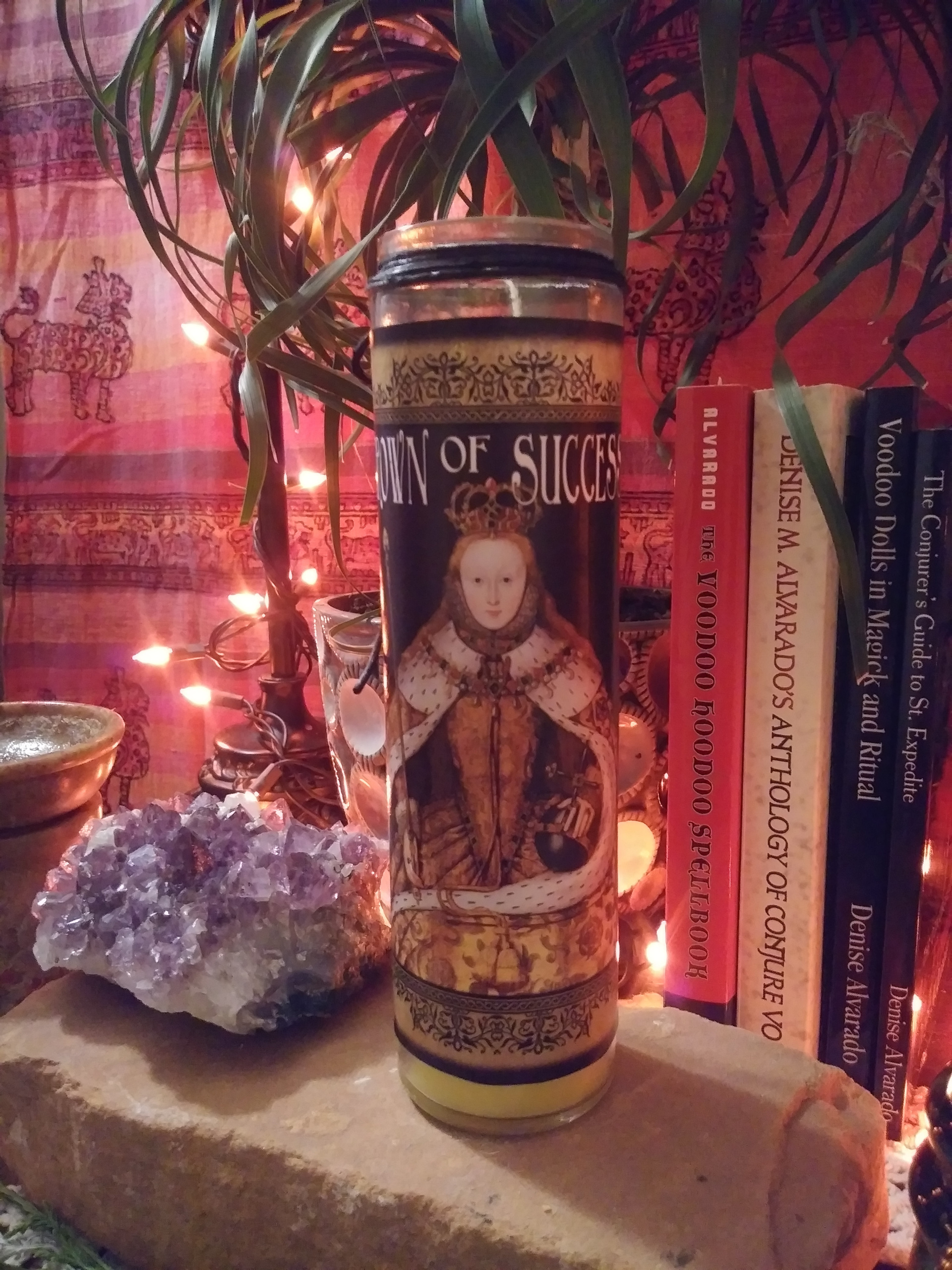 Crown of Success Fixed Conjure Candle